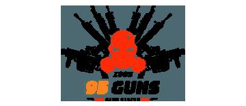 95 Guns by Best Professional Branding & Logo Design Company in Mukkam, Calicut, Kerala. Shab Solutions is a Top Branding & Logo Design company in calicut, mukkam, Kerala, India